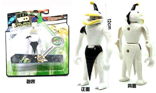 Free shipping 2014 top sale ben 10 Ripjaws toys,kids ben ten pvc anime figure,one piece figure,Christmas&new year gift(China (Mainland))
