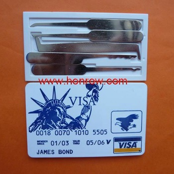 Hot sell Bank visa card machine and door lock pick tool