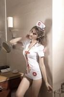 Free shipping  Party  Masquerade Sexy Nurse Uniform    Cosplay Costume   Unique Design +Sexy Clothes+a cute hat   Hot sale