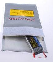 Wholesale 10pcs/lot LiPo RC Battery Safe Guard bag pouch Charging Sack save pack 180mm*230mm