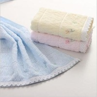 Free shipping ! wholesale factory price 5pcs/lot 100% cotton slub yarn absorbent soft towel ,face cloths,washer towel,hand towel