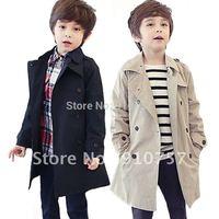Fashion Kids windbreaker boys coats Autumn 2012 new boy's leisure wild cotton casual jacket