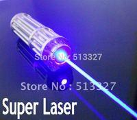 30%off / 532nm 5000mw/5Watt Waterproof focusable Blue laser pointer Burning star pointer torch +free shipping