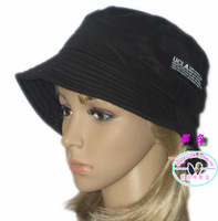 Bucket hat fishing hat bucket hats outdoor two sides double layer cotton chromophous