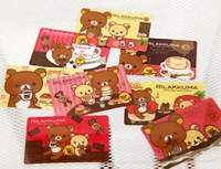 Free Shipping/New rilakkuma Series IV deco card sticker / cute Decoration label / Wholesale