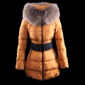 2012 winter women's down coat thermal down jacket slim medium-long thickening outdoor down coat  free shipping