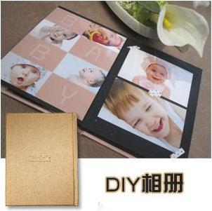 Фотоальбом New arrival diy paste photo album photo album lovers baby photo album 504g