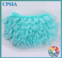 24PCS/LOT  Wholesale bloomers Lace Ruffle  babies bloomers (China (Mainland))