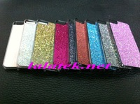 For iphone5 Case,Crystal Bumper Hard Bling Glitter Case for iphone 5 5S 5G High Quality Free Shipping