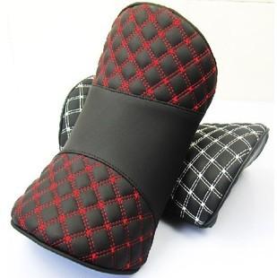 FREE SHIPPING Red wine series car headrest car cushion neck pillow memory cotton car pillow headrest