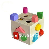 Free Shipping Children Wooden Block Toys intelligent toys
