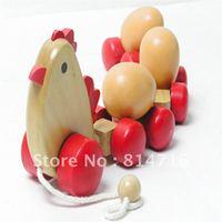 kids cute chicken push animal toys