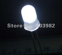 White LED Diodes 5mm diffuse led bulb 6000-6500K long life span(CE&Rosh)1000MCD