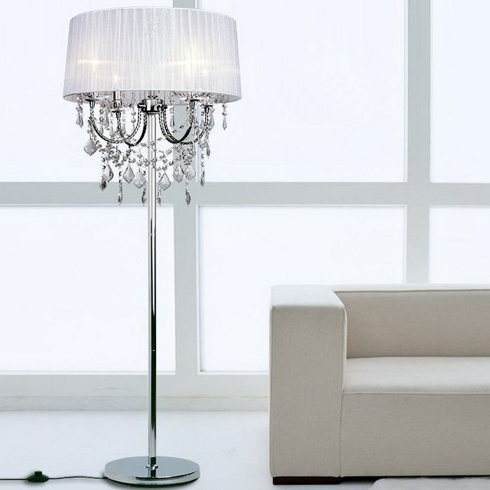 crystal chandelier floor lamp Picture - More Detailed Picture ...
