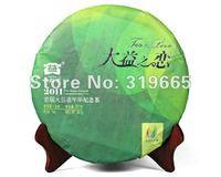 Da yi puer tea long love for puer top grade puerh raw tea cake 357g +Secret Gift+free shipping