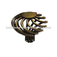 Bronze Iron-nickel knob Birdcage European furniture kitchen/ cabinet/armoire/door/drawer/ handle knob wholesale P45