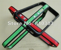 100 piece a lot  pure colour good quality  bumper for iphone 5 freeshipping