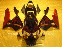 F5 cbr600rr fairing 2004 2003 cbr600 fairing 03 04 abs fairing  motocycle bodywork red flame