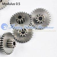 10pcs/lot  25102.5B modulus 0.5 Metal gears, Wheel motor gear No.46 free shipping