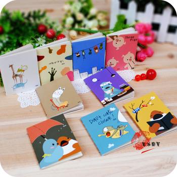 9 pcs/pack Stationery cartoon book notes on paper notepad DIY memo pad (KB-24)