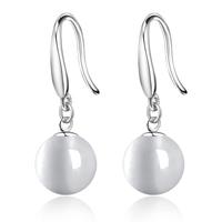 Jpf - eye women's earrings 925 pure silver earrings female body gem gift