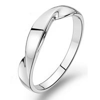 Jpf 925 pure silver ring female women's ring male finger ring