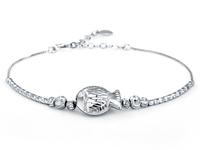Jpf bracelet fish 925 pure silver bracelet female accessories
