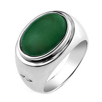 Jpf quality jade ring 925 pure silver ring male ring male vintage