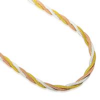 Jpf 925 pure silver flatworm chain color gold male necklace pure silver necklace