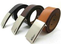 FATAR men's leather belt men belt double-sided real leather belt