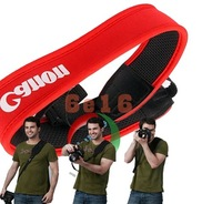free shipping camera full Neoprene Neck Strap for canon