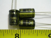 10 Low ESR 6.3V 1000uf  Radial Electrolytic Capacitor