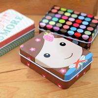 Retail Fashion rectangle tin jewelry box storage box  (KG-05)