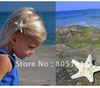 Stylish Starfish Bride Beach Wedding Surfer Hair Clip Bridal Flower Surfer Girl