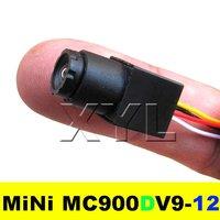 Mini CCTV Camera 520TVL High resolution Color 90degree view angle 0.008Lux MC900DV9-12 Free Shipping