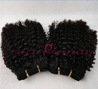 Sunnymay  Kinky Curly Mongolian Virgin  Human Hair Weft
