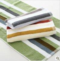 Free shipping ! wholesale 34*76cm Multi-Color 5pcs/lot 100% cotton soft absorbent towel /face cloths/washer towel/hand towel