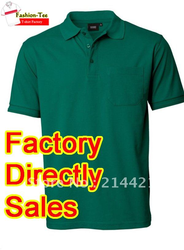 mens fashion top polo shirt used TC fabric heavy cotton fabric(China (Mainland))