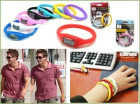 Big promotion!!!Silicone watch!Free shipping&Wrist watch&power energy silicone bracelet S1