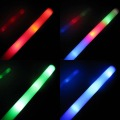 Freeshipping 25pcs LED Flashing light up wand novelty toy,glow sticks Halloween party accessory Christmas IVU
