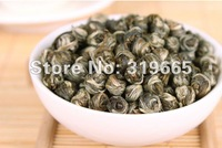 Free shipping premium 100g Top Grade Downy Jasmine Pearl Green Tea Jasmine tea balls