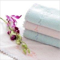 Free shipping!wholesalemulti-Color 33*72cm 105g 5pcs/lot 100% bamboo fiber soft  face towel /face cloths/washer towel/hand towel
