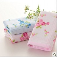 Free shipping!wholesalemulti-Color 34*76cm 100g 5pcs/lot 100% cotton soft  face towel /face cloths/washer towel/hand towel