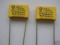 50pcs GS-L 0.1UF(K) X2 250V 275V -GMF Capacitor
