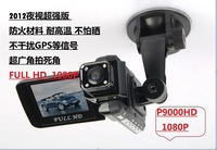 """New arrival 2.0""""inch Screen Car dvr Video camera P9000 Full HD 1080P night vision 140 wide angle lens vehicle black box"""