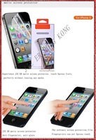 matte for iphone 5 screen protector New and original MOQ 200pcs free shipping fedex 3-7dasy