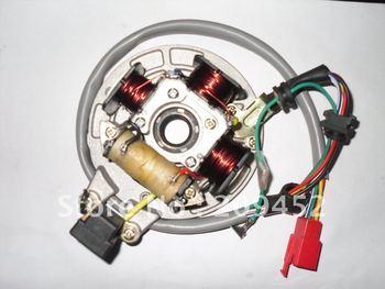 Moto Calidad bobinas magneto , la bobina del estator CT100 bajaj100