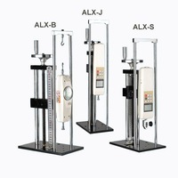 ALX-S Screw Test Stand, wheel manul test stand (Max Load 500N) without force gauge, Free shipping of Fedex, TNT,DHL,EMS