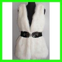 New Arrival Faux Fur Mink Vest  by Man-made Hair/Fur For Ladies/Women Outwear Coats Retail/Hot Sale/Wholesale