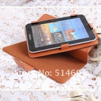 "wholesale 360 Degrees Rotating Stand Case For 7"" Mediacom Smart Pad 706i 707i 723i tablet Multi-Angle Free shipping"